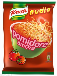 nudle amore pomidore