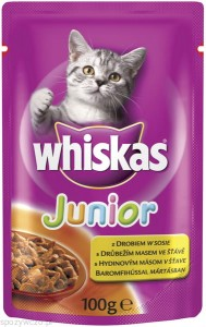 whiskas Junior-z-drobiem-saszetka-100g