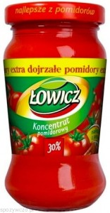 koncentrat pomidorowy 190g