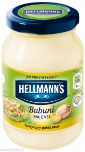 hellmans majonez babuni 225ml