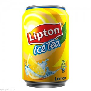 Napój LIPTON ICE TEA Lemon 0,33l opak.24